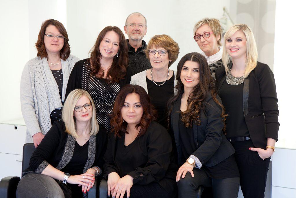 Teambild Bösing - Ihr Friseur in Roxel und Nienberge